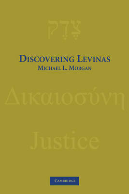 Discovering Levinas by Michael L Morgan image