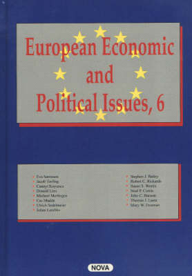 European Economic and Political Issues: v. 6