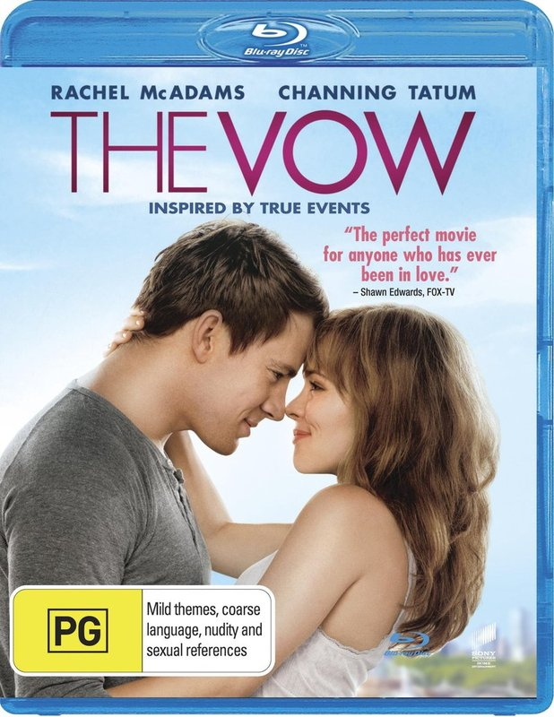 The Vow on Blu-ray