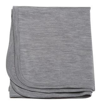 Babu: Merino Bound Wrap - Grey Marl