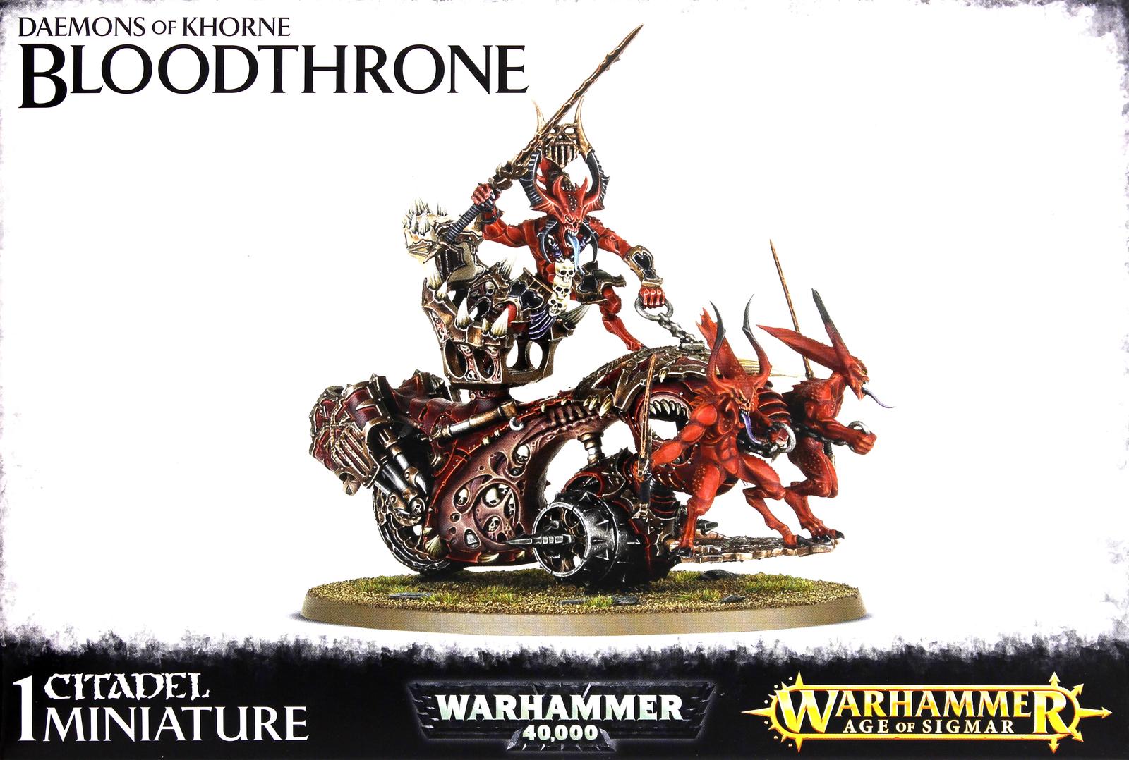 Warhammer Daemons of Khorne Bloodthrone image
