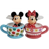 Disney - Mickey & Minnie Teacups Salt and Pepper Shakers