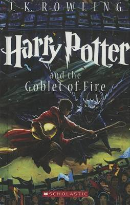 Harry Potter and the Goblet of Fire by Scholastic image