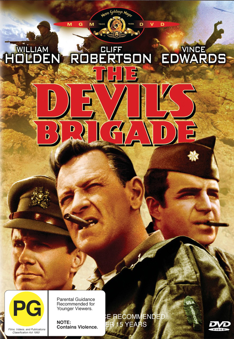 The Devil's Brigade on DVD image