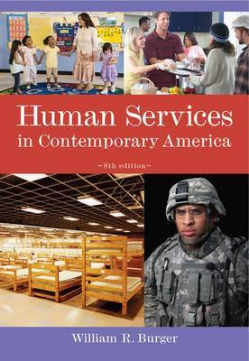 Human Services in Contemporary America by William Burger image