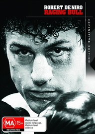 Raging Bull - Definitive Edition (2 Disc Set) on DVD image