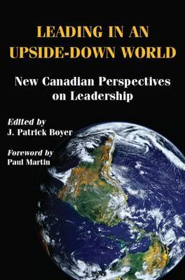 Leading in an Upside-Down World by J. Patrick Boyer image