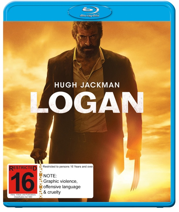 Logan on Blu-ray