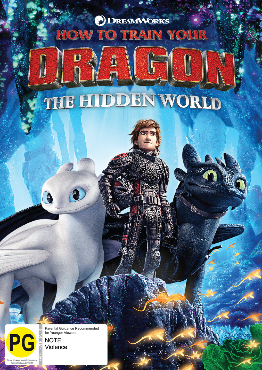 How To Train Your Dragon: The Hidden World on DVD image