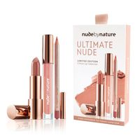 Nude by Nature: Ultimate Nude Lip Collection (3pc)