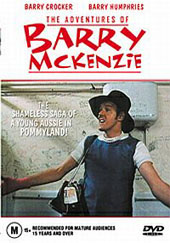 Adventures of Barry McKenzie on DVD