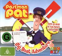 Postman Pat - Big Boat Adventure on DVD image