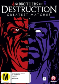 WWE Brothers of Destruction: Greatest Matches on DVD