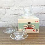 Temerity Jones Classic - Espresso Cup & Saucers Set