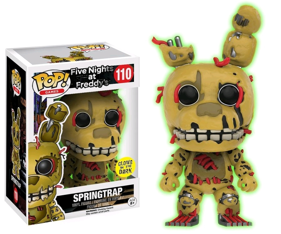 Five Nights at Freddy's - Spring Trap (Glow) Pop! Vinyl Figure image