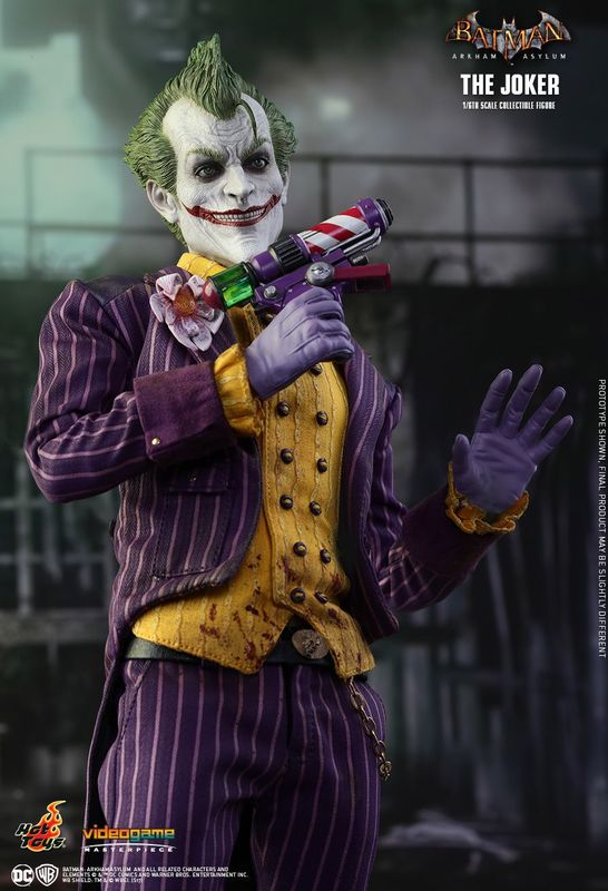 "Batman: Arkham Asylum - The Joker 12"" Figure"