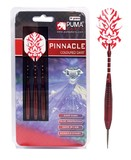 Puma: Pinnacle Brass Steel Darts - 24gm Red (Set of 3)