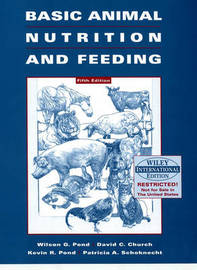 Basic Animal Nutrition and Feeding by Wilson G Pond image