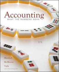 Accounting: What the Numbers Mean by David H Marshall image