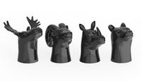 Foster & Rye: Animal Head - Shot Glass Set