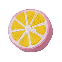 I Love Squishy: Pink Lemon Squishie Toy (11cm)
