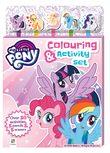 Kaleidoscope: My Little Pony - 5-Pencil & Eraser Set