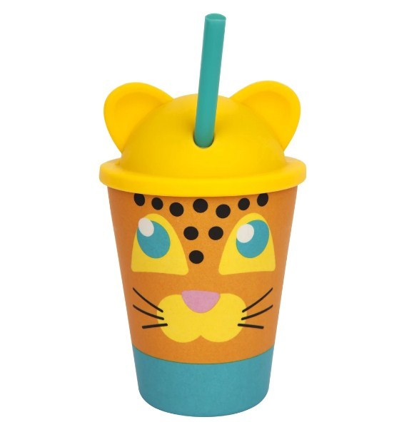 Sunnylife: Eco Kids Tumbler - Leopard