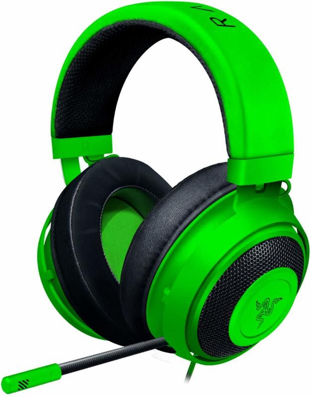 Razer Kraken Multi Platform Gaming Headset (Green) for Switch, PC, PS4, Xbox One