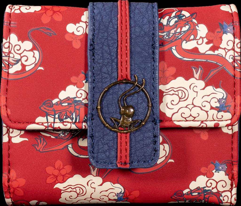 Loungefly: Mulan - Mushu Cloud Wallet image