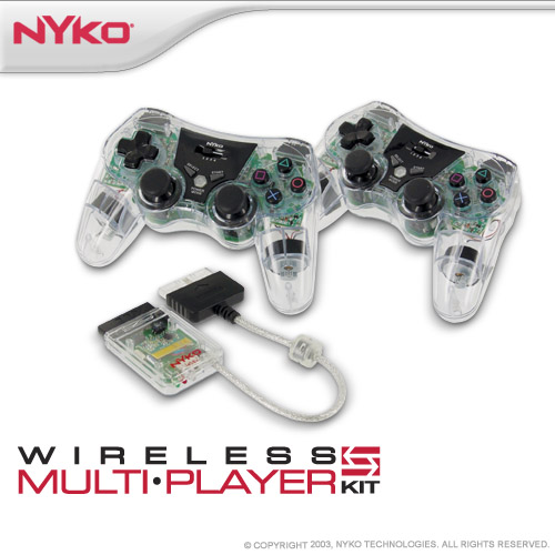 Nyko Wireless Multi-Player Kit for PlayStation 2 image