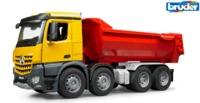 Bruder Mercedes-Benz Arocs Truck Halfpipe Dump Truck