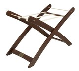 Natures Purest Moses Basket Stand Walnut