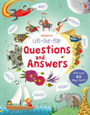 Lift the Flap Questions and Answers by Katie Daynes image