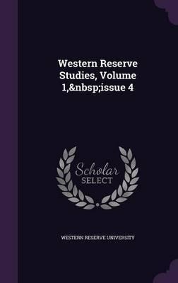 Western Reserve Studies, Volume 1, Issue 4