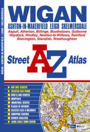A-Z Wigan Street Atlas by Geographers A-Z Map Company image