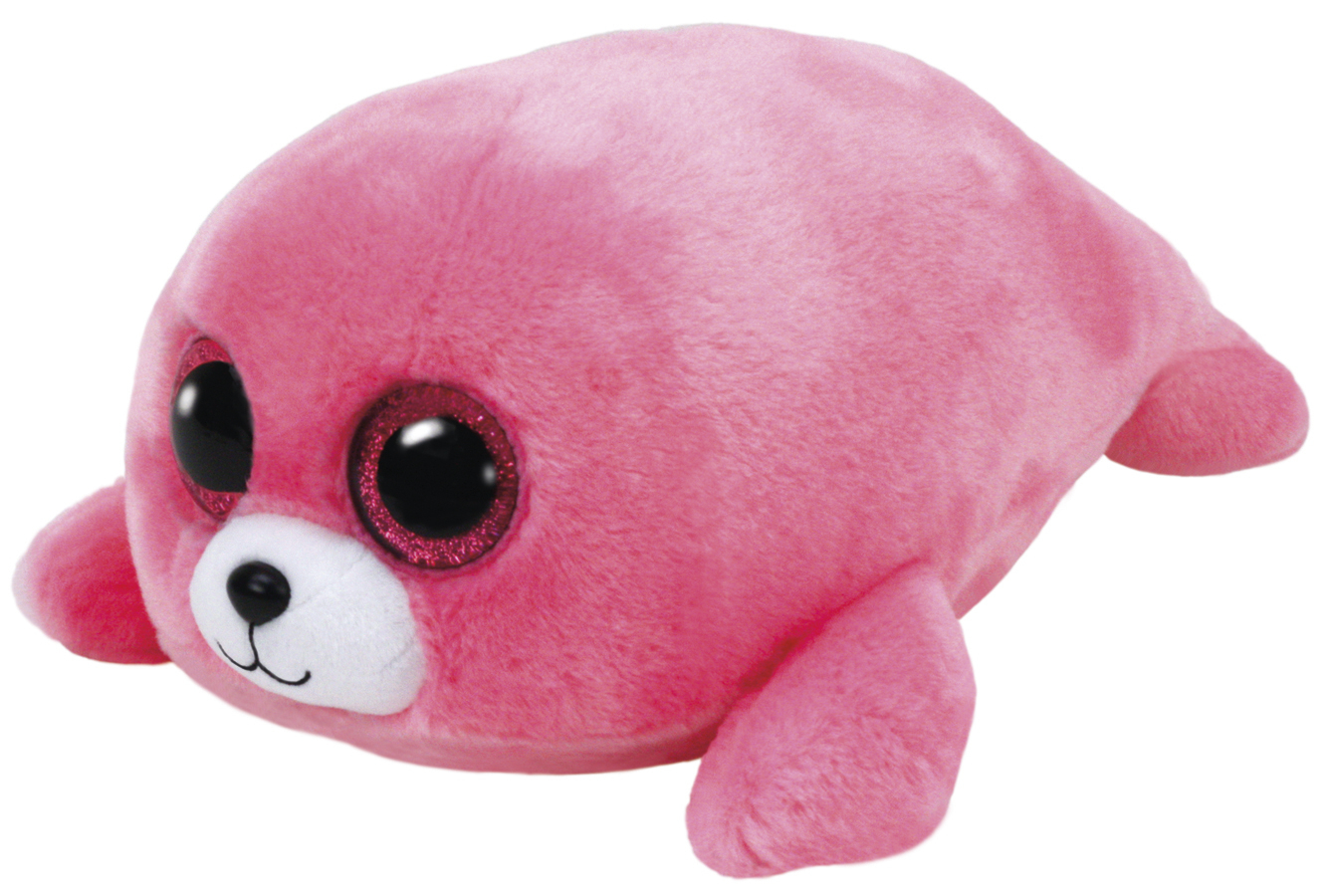 Ty Beanie Boo: Pierre Pink Seal - Small Plush image