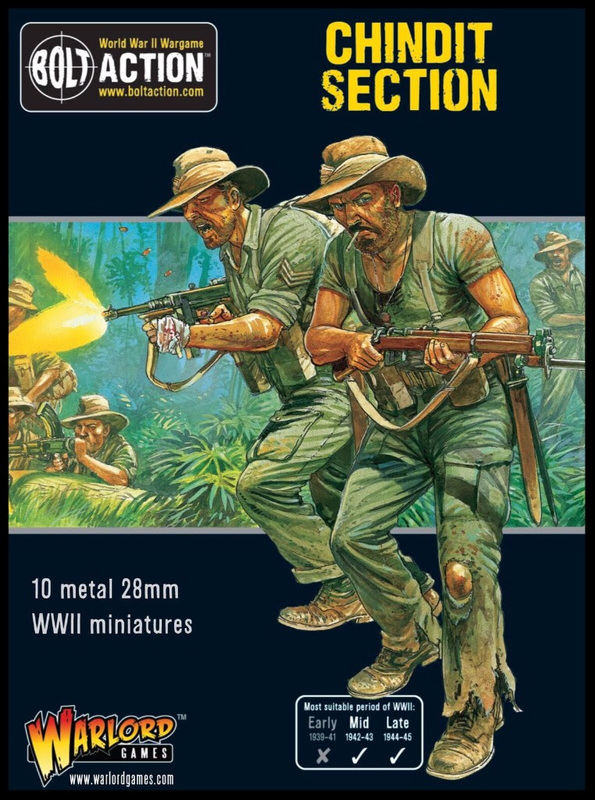 Bolt Action: Chindit Section