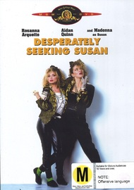 Desperately Seeking Susan on DVD