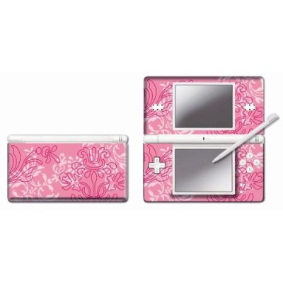 Nintendo DS Lite Modding Skin - Pink Ornament for Nintendo DS image