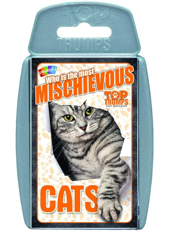 Top Trumps: Cats - Card Game