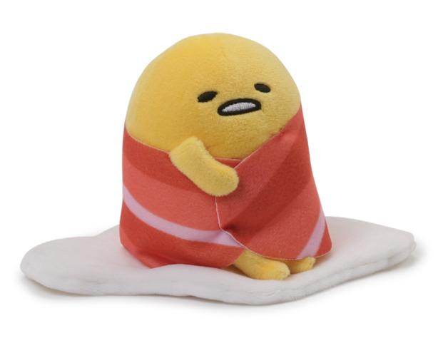 "Gudetama: Bacon Wrap - 5"" Egg Plush"