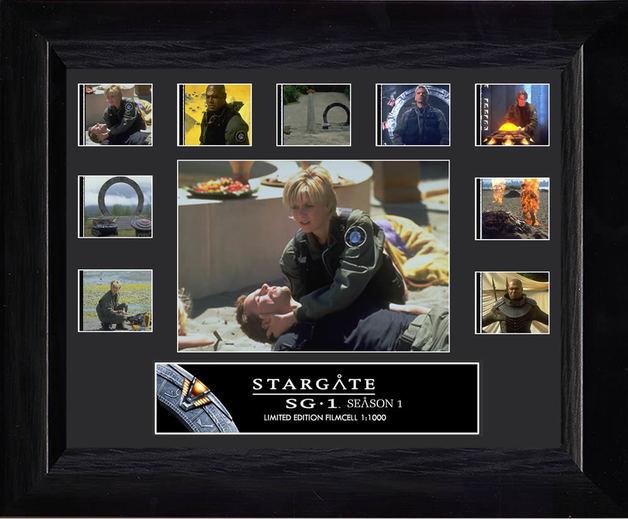 FilmCells: Mini-Montage Frame - Stargate SG1 (Season 1)