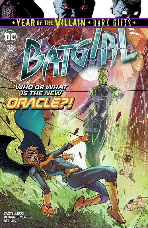 Batgirl - #38 (Cover A) by Cecil Castellucci