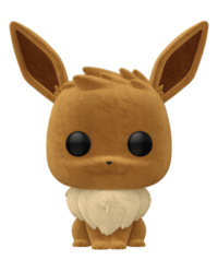 Pokemon - Eevee (Flocked) Pop! Vinyl Figure