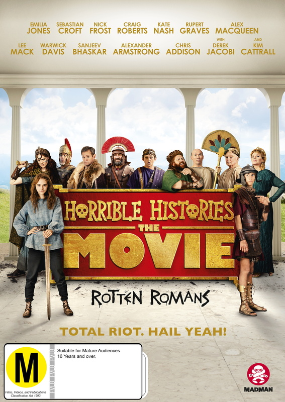 Horrible Histories The Movie: Rotten Romans on DVD