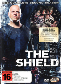 The Shield - Season 2 on DVD