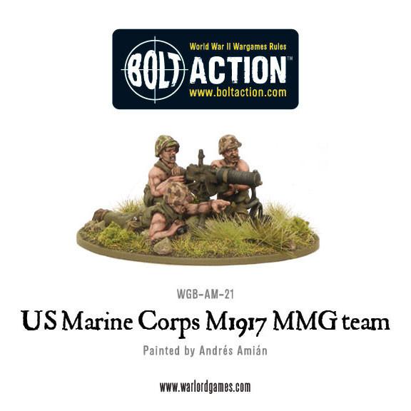 USMC M1917 MMG Team