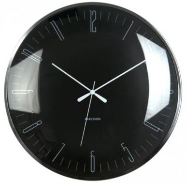 Karlsson Wall Clock - Dragonfly: Black image