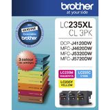 Brother Ink Cartridges LC235XL CL3PK High Yield (3 Colour Pack)