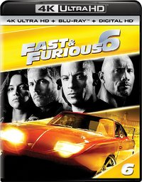 Fast & Furious 6 (4K UHD + Blu-ray) DVD
